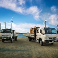 Canter Fg And Crew Cab Wind Farm