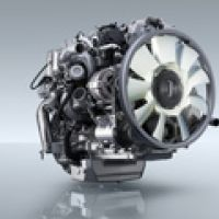 Fuso Canter 4p10 Engine W Cooling Fan