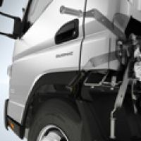 Fuso Canter Cab Tilt Handle Operation