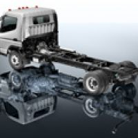 Fuso Canter Drivetrain Layout