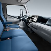 Fuso Canter Fe Interior From Right Side