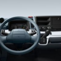 Fuso Canter Instr Panel Drivers View