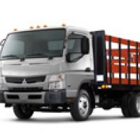 Fuso Canter Stake Body Landscaping
