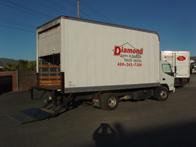 Bobtail Truck + 16ft Van Body with Liftgate