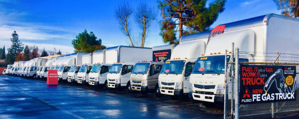 Gas Cab Box Trucks for Sale and Lease San Jose